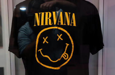 Kurt Cobain, Nirvana, Shirt, Smiley Face, Growing Up Kurt, Exhibit, 2018
