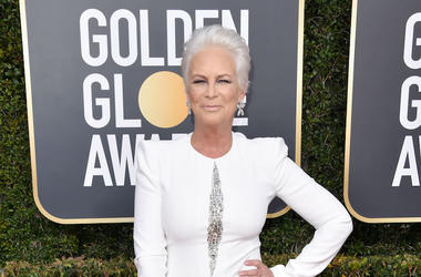 Jamie Lee Curtis, Red Carpet, Golden Globe Awards, 2019