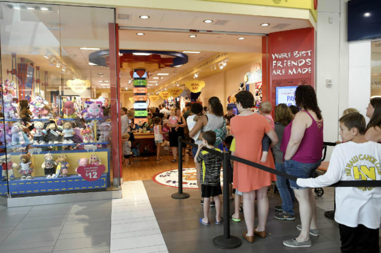 Build-A-Bear Pay Your Age Day