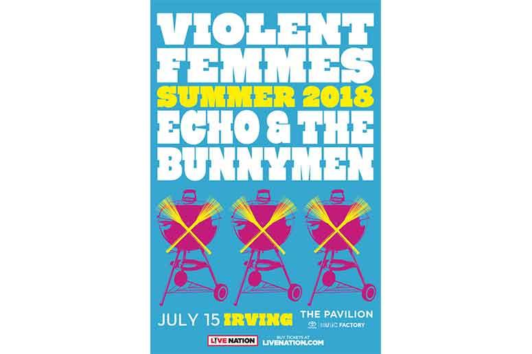 Violent Femmes and Echo & The Bunnymen