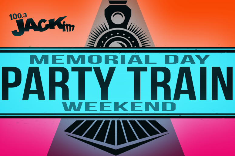 Memorial Day Party Train