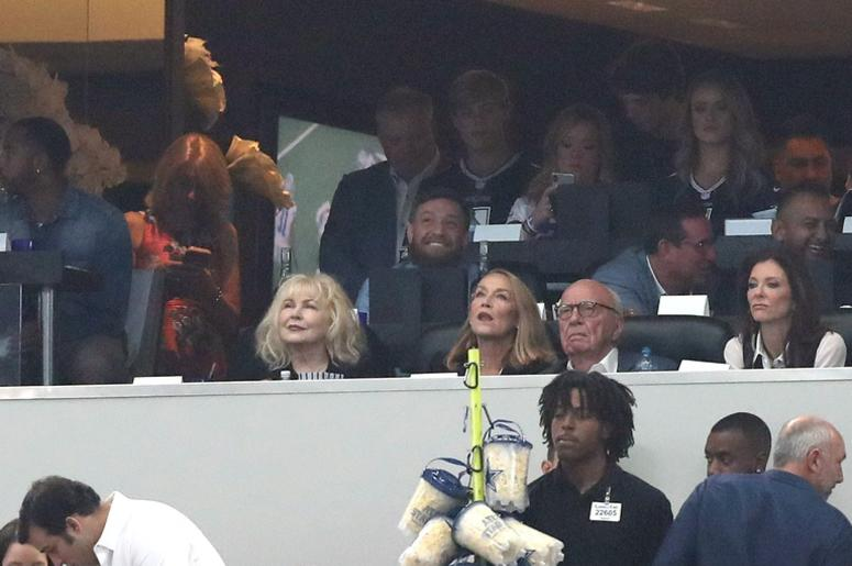 Conor McGregor At the Dallas Cowboys Game