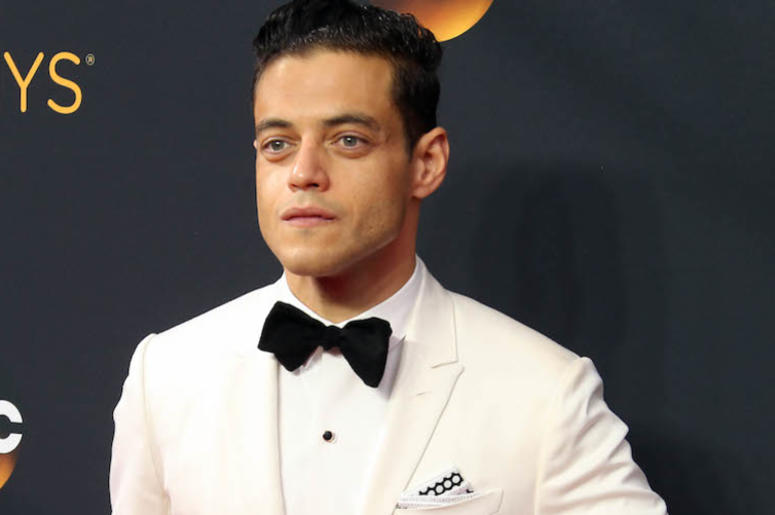 Rami Malek, White Tuxedo, Red Carpet