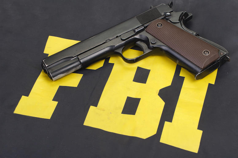 FBI, Logo, Uniform, Gun