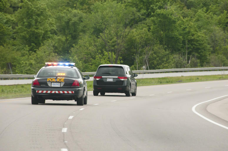 Police Chase, Highway, Sirens, Car