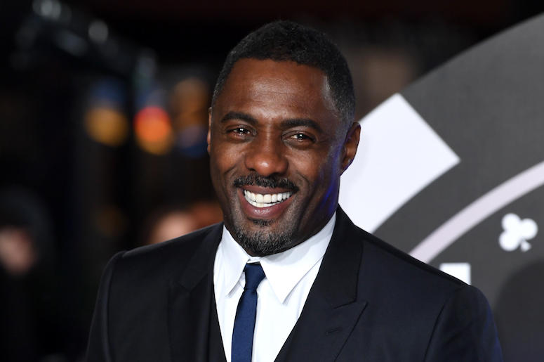 Idris Elba, Smile, Suit,