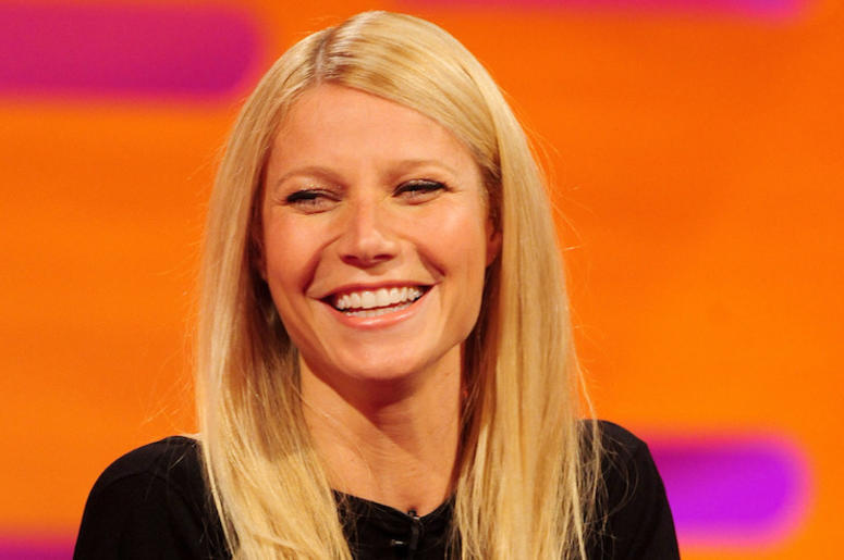 Gwyneth Paltrow, Talk Show, Smile, 2013