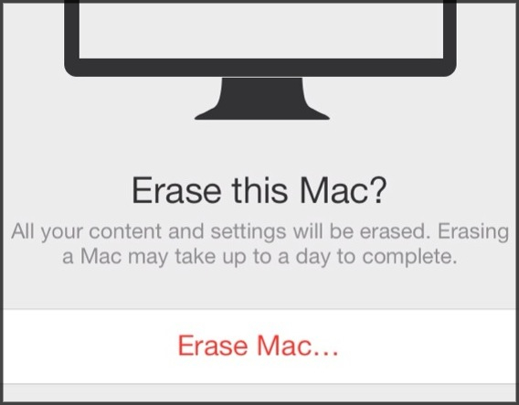 Erase this Mac