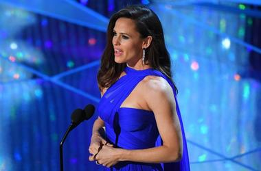 March 4, 2018; Hollywood, CA, USA; Jennifer Garner speaks on stage during the 90th Academy Awards at Dolby Theatre