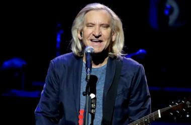 Joe Walsh performs during An Evening with the Eagles at Fiserv Forum in Milwaukee, Thursday, October 18, 2018