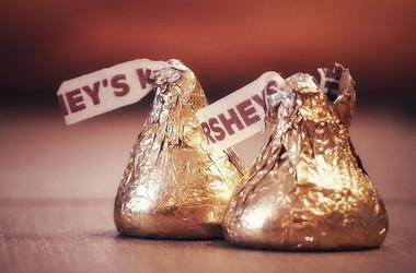 Hershey, Kisses, Chocolate, Candy