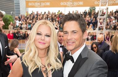 Sheryl Berkoff and Rob Lowe