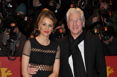 Richard Gere and Alejandra Silva