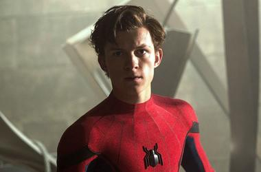 "Tom Holland as ""Spider-Man"""
