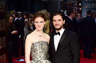 Game of Thrones stars Rose Leslie and Kit Harrington