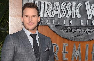 "LOS ANGELES - JUNE 12: Chris Pratt at the premiere of ""Jurassic Park: Fallen Kingdom"" at the Walt Disney Concert Hall on June 12, 2018 in Los Angeles, California"