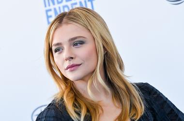 Chloe Grace Moretz walking on the red carpet at the 34th Film Independent Spirit Awards held in Santa Monica, California on Feb. 23, 2019