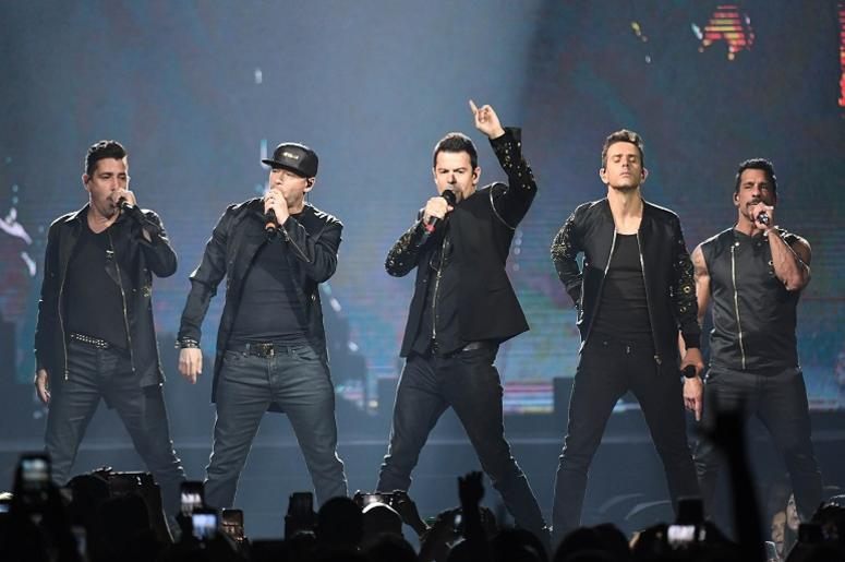 Jul 16, 2017; Hollywood, FL, USA; New Kids on the Block perform at the Hard Rock Live.