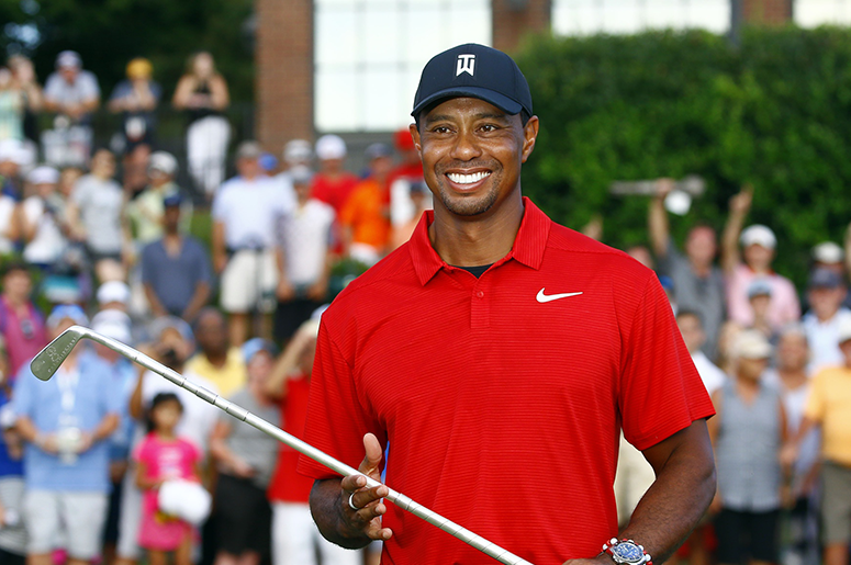 Tiger Woods looks rejuvenated in 80th PGA Tour win