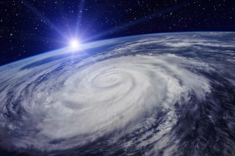 Space Station's view of Hurricane Florence looks eerily apocalyptic