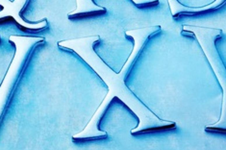 Fierce debate: Forget the dress… how do you draw an 'X'?