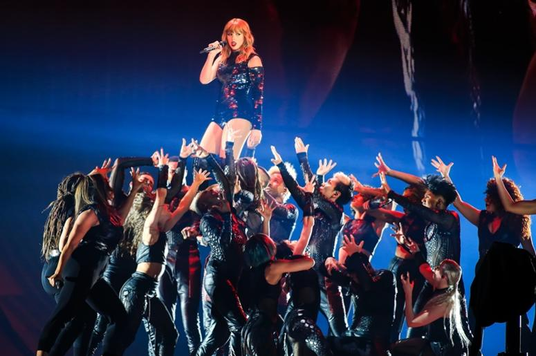 5/8/2018 - Taylor Swift during the opening show for her Reputation Tour at the University of Phoenix Stadium, Glendale, Arizona.