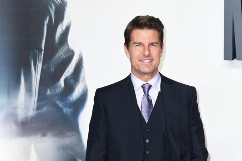 7/13/2018 - Tom Cruise attending the UK premiere of Mission:Impossible Fallout, at the BFI IMAX, Waterloo, London