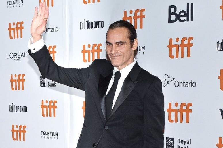"08 September 2018 - Toronto, Ontario, Canada - Joaquin Phoenix. ""The Sisters Brothers"" Premiere - 2018 Toronto International Film Festival held at the Princess of Wales Theatre"