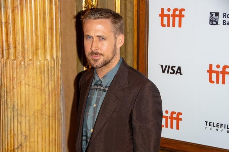 "Ryan Gosling attends the ""First Man"" Premiere during the 2018 Toronto International Film Festival (TIFF) at Elgin Theatre in Toronto, Ontario, Canada, on September 10, 2018"