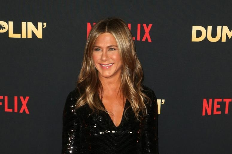 6 December 2018 - Hollywood, California - Jennifer Aniston. The world premier of Dumplin' held at The TCL Chinese 6 Theaters