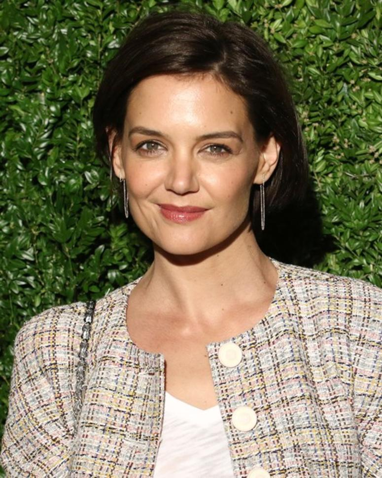 4/23/2018 - Katie Holmes attends the 13th annual Tribeca Film Festival Artists Dinner at Balthazar in New York