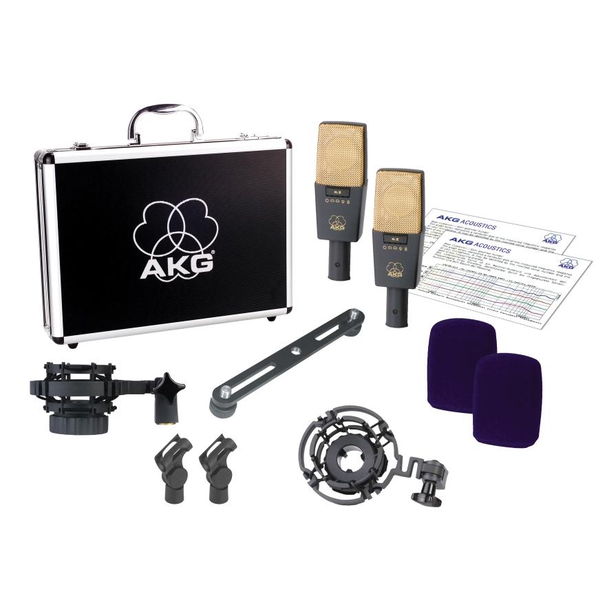 (ea)AKG C414B-XLII STEREO PR