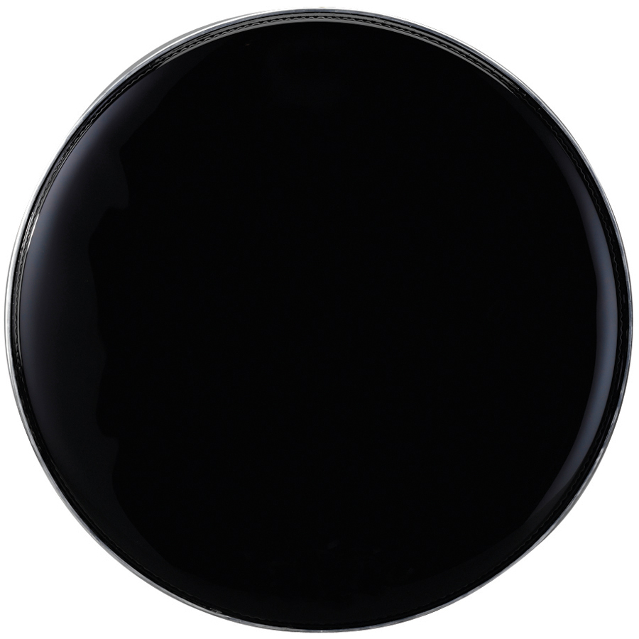 (ea)14IN. BLACK DRUM HEAD