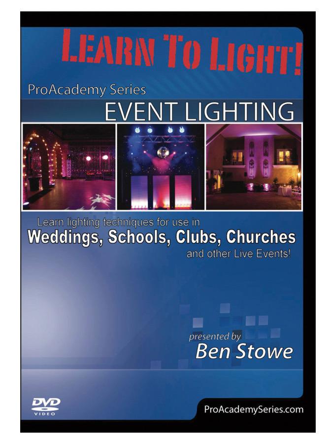 (ea)EVENT LIGHTING DVD