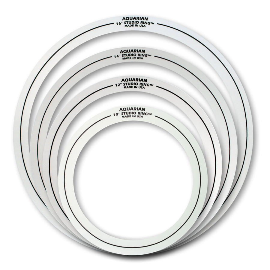 AQUAR 14 STUDIO RINGS 6/PK
