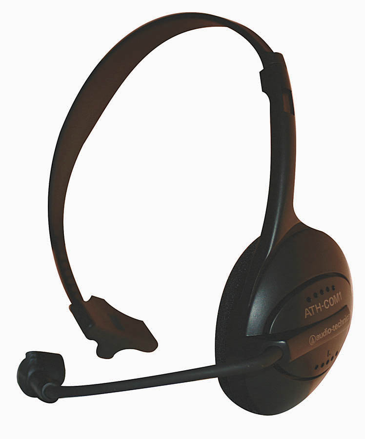 (ea)AT COM HEADPHONE W/MIC