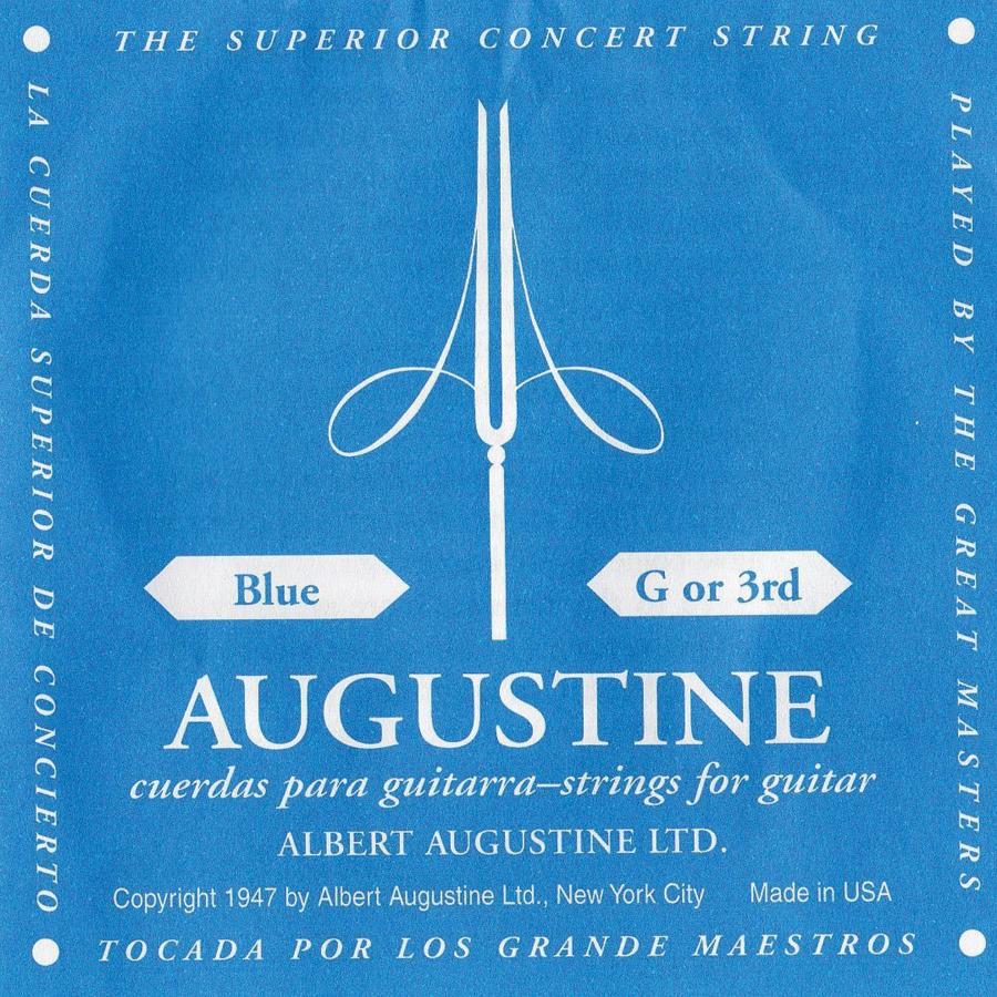 AUGUSTINE G 3RD BLUE          12 Pack