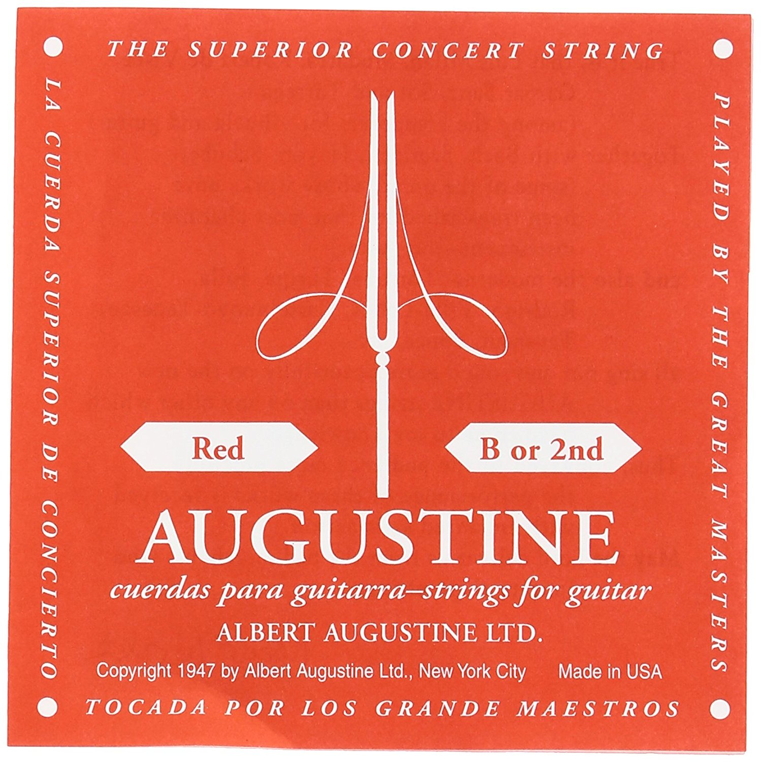 (ea)AUGUSTINE RED 2ND SINGLE