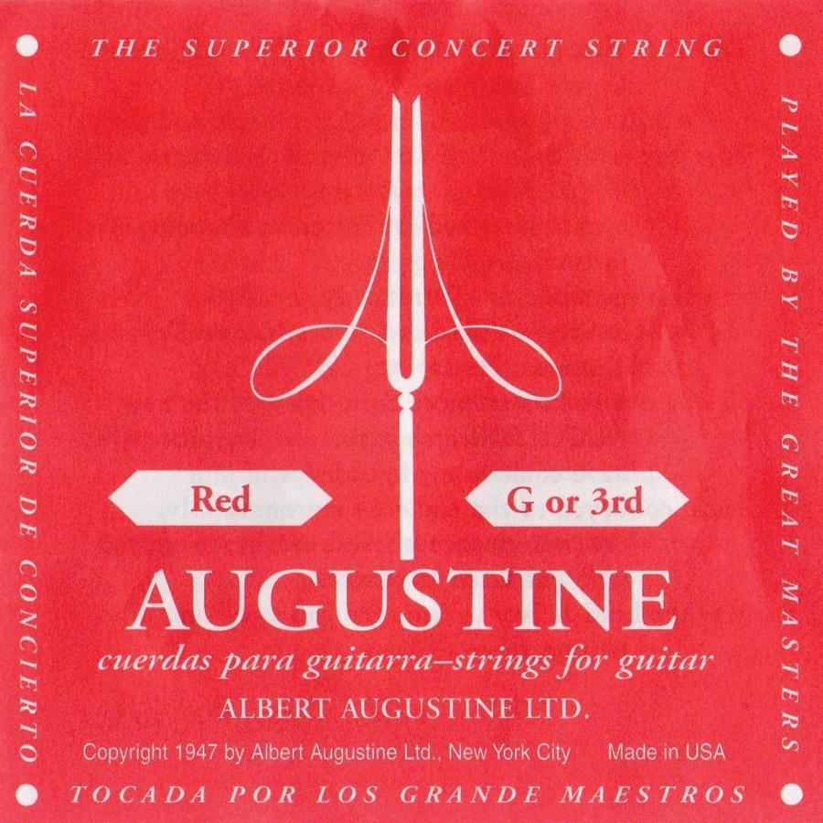 (ea)AUGUSTINE RED 3RD SINGLE