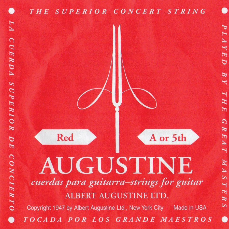 (ea)AUGUSTINE RED 5TH STRING
