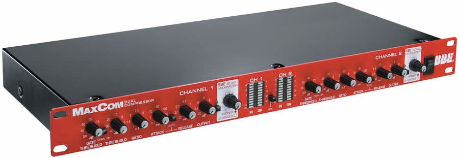 BBE DUAL CHANNEL COMPRESSOR
