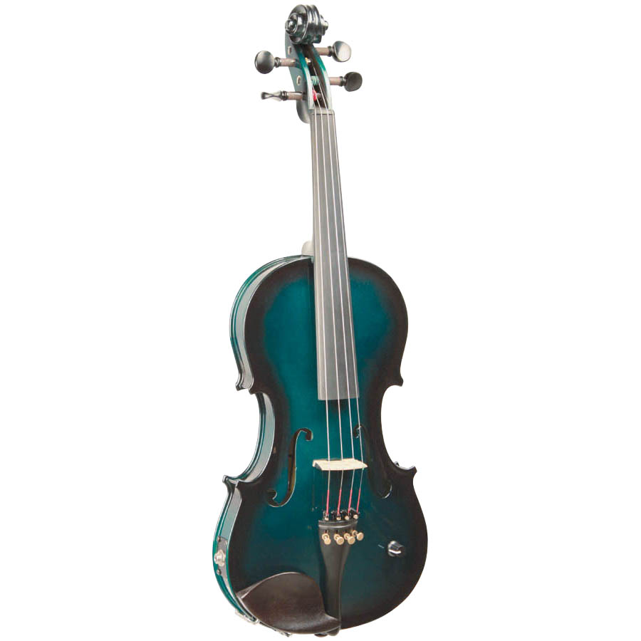 (ea)BB ACOUS ELEC VIOLIN GREEN