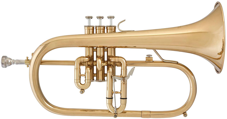 BLESSING FLUGELHORN WITH CASE