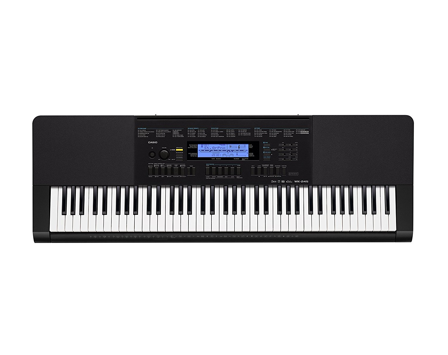 76 Full Size Keys  32 note Poly