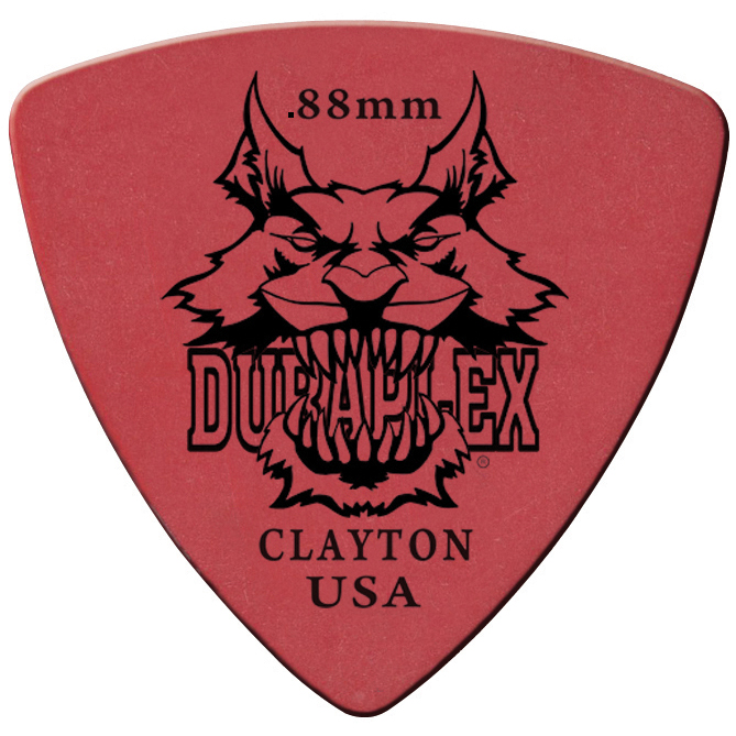 DURAPLEX PICK STD.88MM 12PK