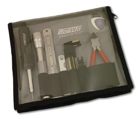 (ea)CRUZ TOOLS BASS TECH KIT