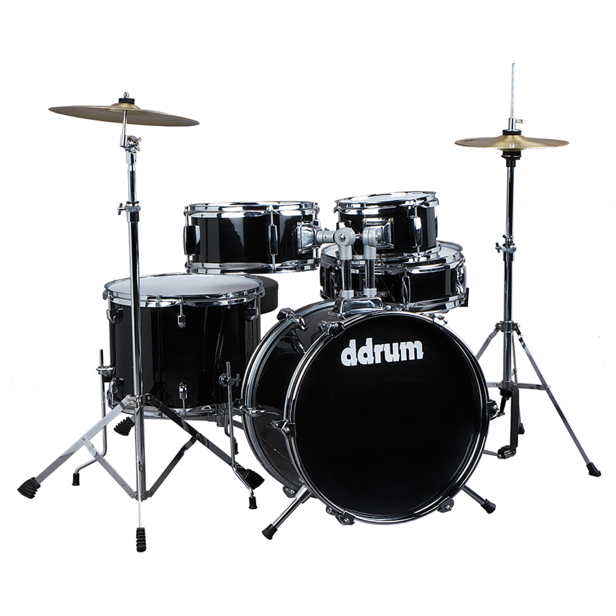 DDRUM JR 5PC DRUMSET BLK