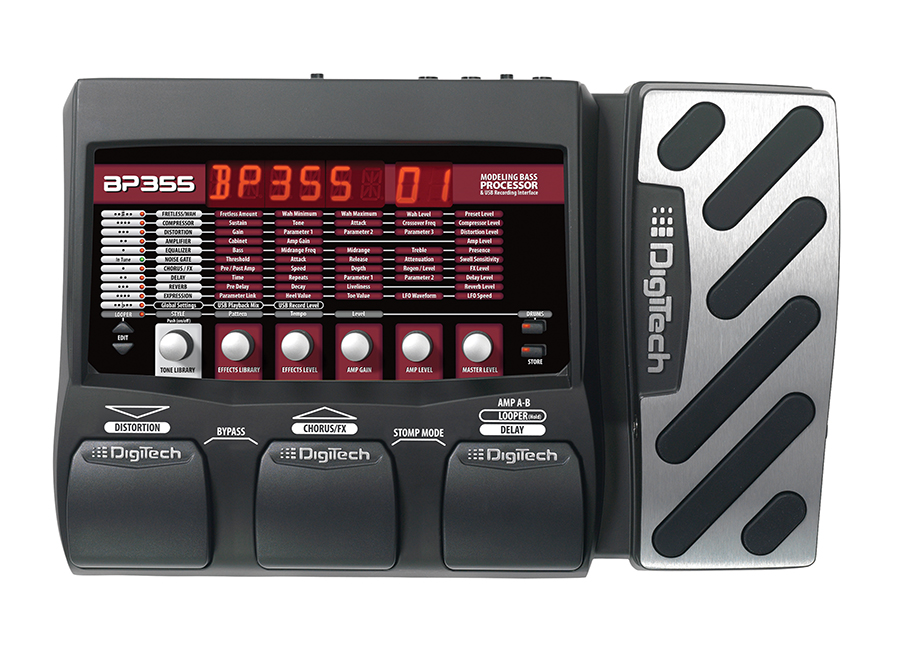 Bass Multi-FX, Exp, USB       Bass Multi-FX, Exp, USB
