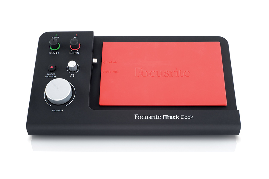 (ea)Dock for Recording Music  on IPad