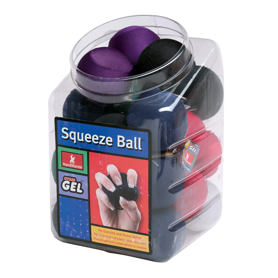 (25pk)CYBER GEL SQUEEZE BALL
